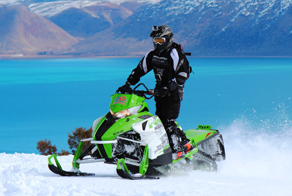 Bear Lake Utah rentals for snowmobiles are available in winter!