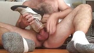 Sock Popper Daddy Fleshlite Play & Cum