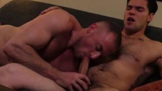 Jacob Durham giving Aspen superb blowjob