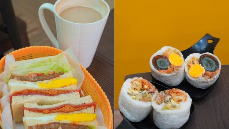 小港區早午餐 五分鐘找餐漢民店-小港醫院旁邊,中文衛視採訪過必吃黑金飯糰與鍋燒麵