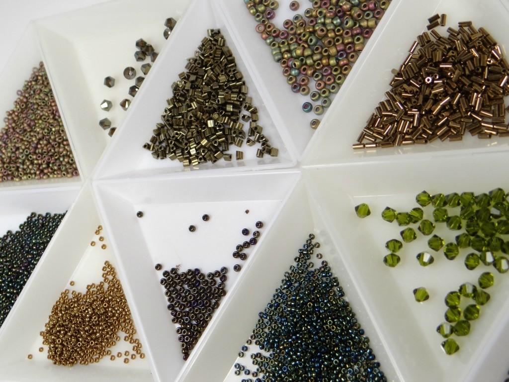 perlés utilisées-matériaux