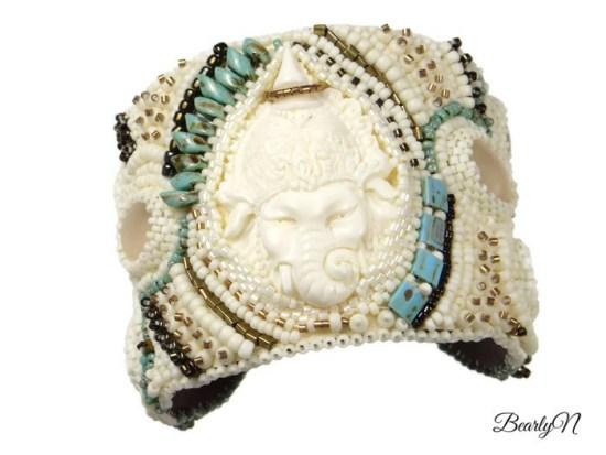 bracelet manchette Ganesha