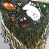 profil trois quart pendentif chameleon