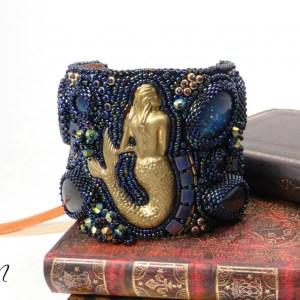 bracelet manchette sirène Deep Ocean