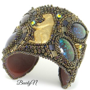 "bear cuff ""The Old Sequoia"""