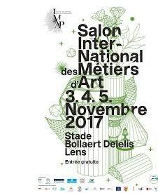 Affiche Salon International des Métiers D'art-Lens