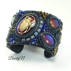 bracelet manchette scarabée_BearlyN