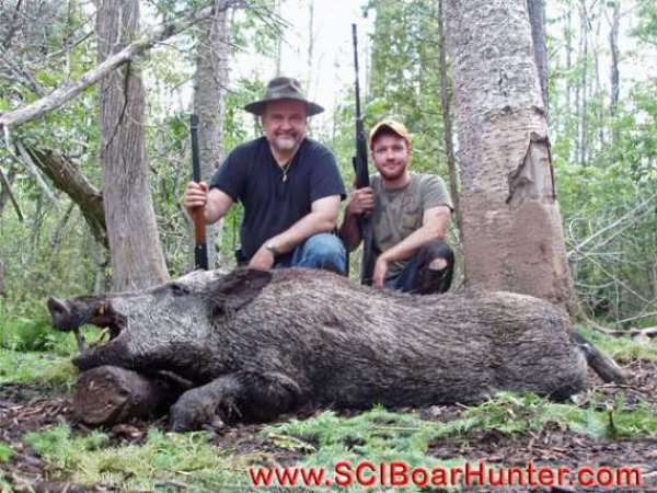 Father and Son experience a hunt of a lifetime.