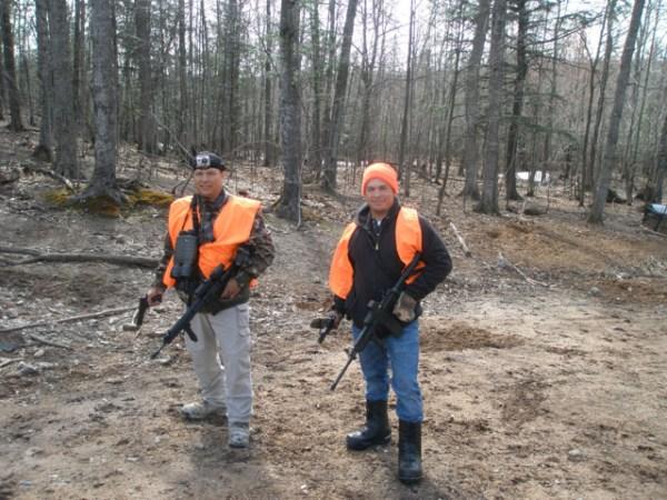 russian boars hunting