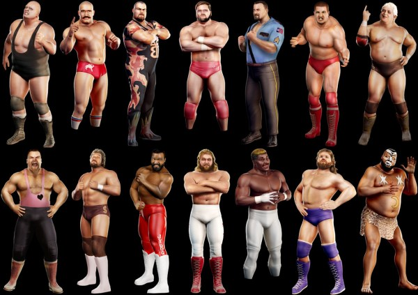 Burly Legends Of Wrestlemania