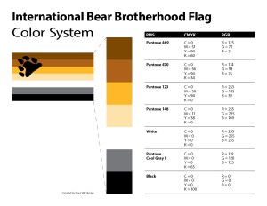 The International Bear Flag Color System