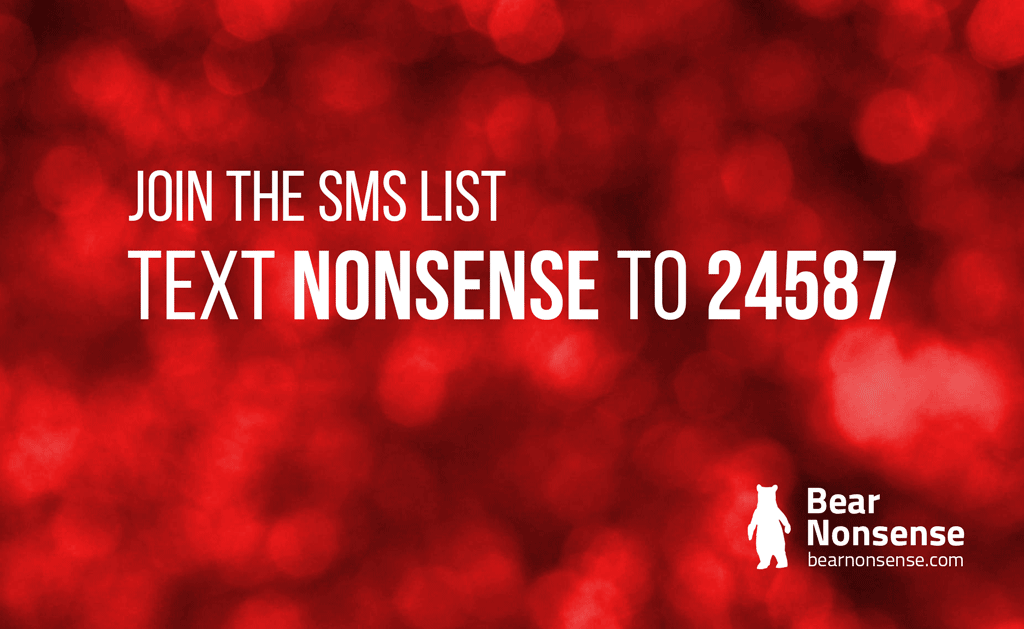 Members Stick with Nonsense SMS – Text NONSENSE to 24587