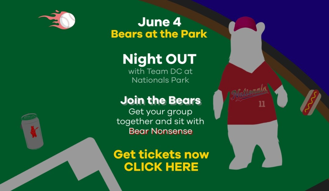 Bears at Night OUT at National Park June 4