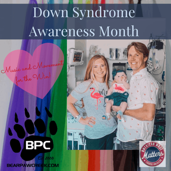 A family who's daughter has Down syndrome and is getting ready for third heart surgery Down syndrome awareness