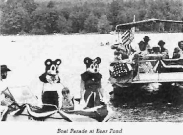 Mickey and Minnie Boat Parade