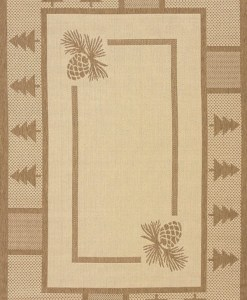 Solarium Pine Court Rug Collection