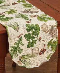 Wildlife Trail Table Runner