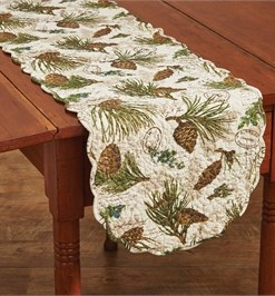 "Walk in the Woods 54"" Table Runner"