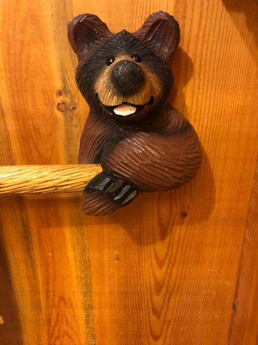 Unique Hand Carved Wooden Figurine Colorado Beetle