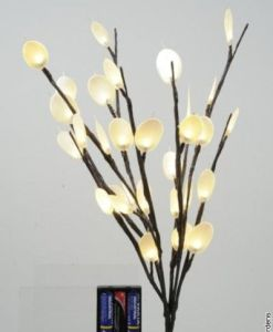 60 Lights – Silver dollar with battery pack