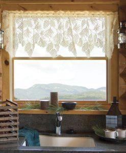 Woodland Lace Valance