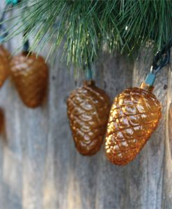 Pinecone Indoor/Outdoor String Lights