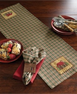 Cabin Table Runner
