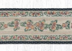 "Pinecone 13"" x 48"" Braided Runner"