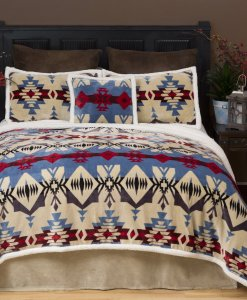 Blue River Bed Set