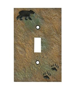 Bear Stone Switch Cover