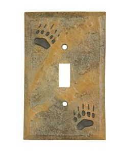 Bear Switch Plate Cover