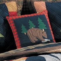 Bear w_ Fish Pillow-2