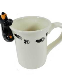 Bear Figural Mug By Big Sky Carvers