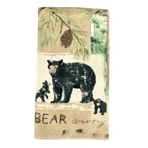 Black Bear Wilderness Terry Kitchen Towel