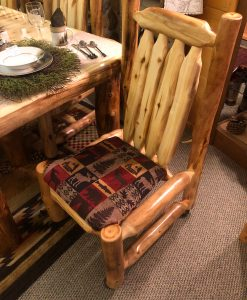Aspen Log Side Chair