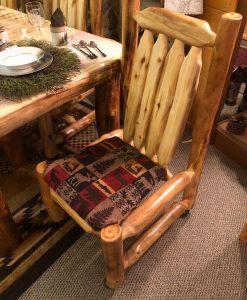 Aspen Log Side Chair