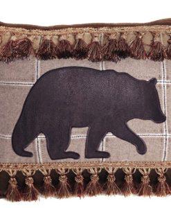 Bear with Tassle Fringe Pillow