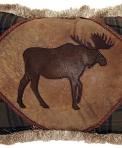 Plaid Moose with Cedar Hills Pillow