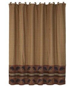 Bayfield Bear Shower Curtain