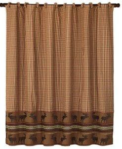 Bayfield Moose Shower Curtain