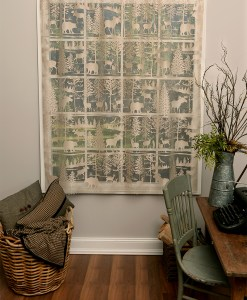 Lodge Hollow Lace Panel