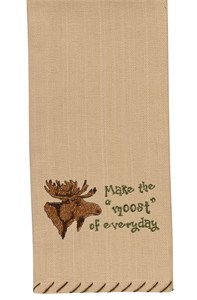 Make Moost of Everyday Dishtowel