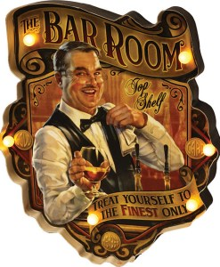 LED Metal Bar Room Bar Sign