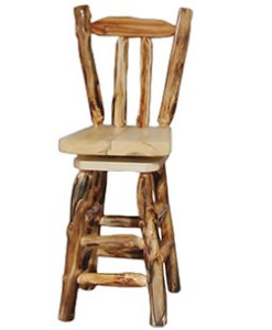 V-Back Aspen Bar Stool
