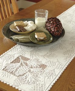 Woodland Lace Table Runner