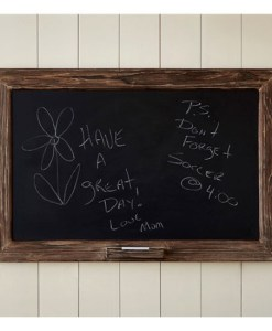 Rough Wood Chalkboard