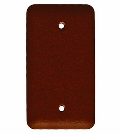 Blank Single Plate cover