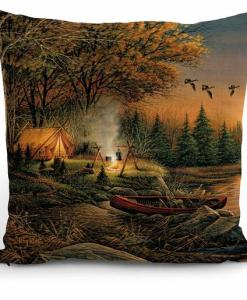 Evening Solitude Decorative Pillow