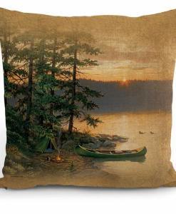 Summer Sunset I Decorative Pillow
