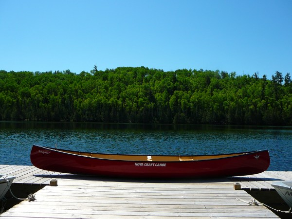 Bob Special Canoe in the BWCA